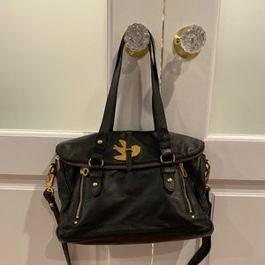 Marc Jacobs Petal to the Medal leather satchel